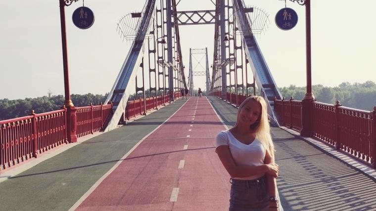 walking in Kiev